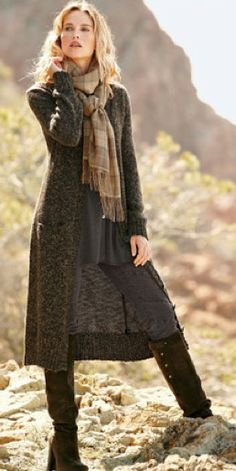 Long Sweater Coat
