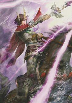 Samurai Warriors- Ginchiyo Tachibana
