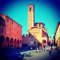 zona universitaria nel centro storico di #Bologna foto di @Shannon Bellanca Copeland