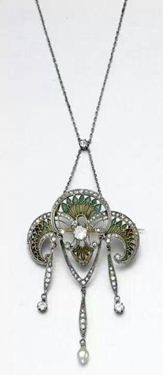 Necklace cca 1905 - 1910