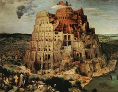 Znalezione obrazy dla zapytania wieża babel bruegel