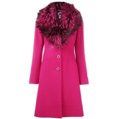 BLUMARINE Coat ❤ liked on Polyvore featuring outerwear, coats, pink coat, blumarine and blumarine coat