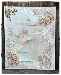 Cards and Creativity: WE LOVE TO CREATE CHALLENGE #21, ANYTHING CREATIVE/MIXED MEDIA GOES
