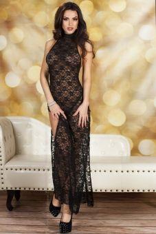 Chilirose CR3506 Spitzenkleid + String www.lingerie4me.de/Party-Clubwear/Kleider/Chilirose-CR3506-Spitzenkleid-String-schwarz::2098.html #Dessous #Clubwear #Partywear #langeskleid #Lingerie4me
