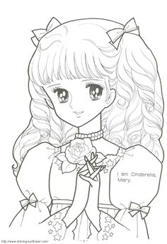 vintage coloring books coloring book art coloring sheets adult coloring colouring princess coloring pages anime princess painted books manga pages