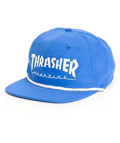 a9715fc4c8d Thrasher Rope Snapback Hat