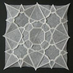 folded paper  VONGREYSKULL