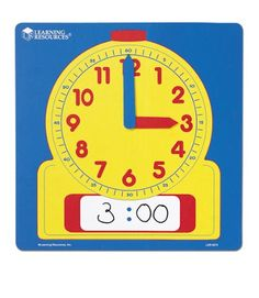50 Best Teaching Clocks For Baby And Toddler Images In