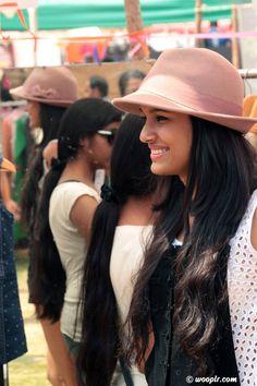 That smile. Sashaa at the Sunday Soul Sante flea market, Bangalore