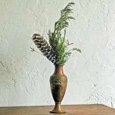 Patina Copper Vase, $32, now featured on Fab.