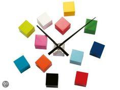 Karlsson Klok Cubic - Multicolor