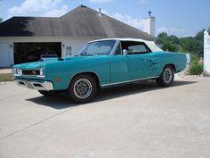 1969 Dodge Hemi Coronet R/T convertible 4-speed