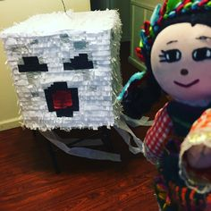 Minecraft Pinata, Table Lamp, Home Decor, Table Lamps, Decoration Home, Room Decor, Home Interior Design, Lamp Table, Home Decoration