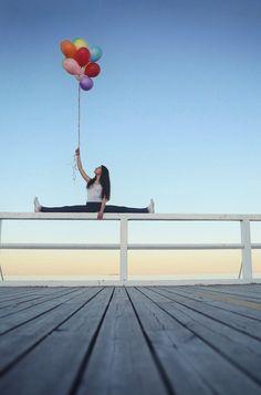 """Foto von Jasminimal: """"Beach 'n Ballons"""""""