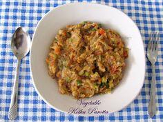 Vegetable Kothu Parotta