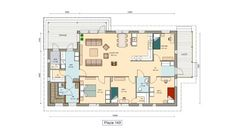 Beautiful Homes, House Plans, Floor Plans, Layout, Flooring, How To Plan, Building, Inspiration, Home Decor