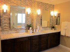 I LOVE this vanity!!! HomeGoods | Remodeling Bathrooms: Not Fun, but Worth it in the End
