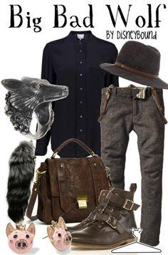 dress like your favorite disney character: Big Bad Wolf