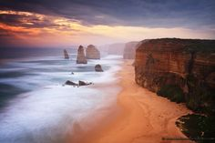 Twelve Apostles by Fabio Nodari  A very famous spot. One of the symbols of the whole Australia..