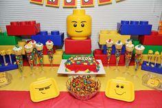 Legos Birthday Party Ideas | Photo 16 of 25 | Catch My Party