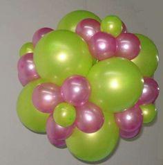 Decoraciones de 15 años con globos - Imagui