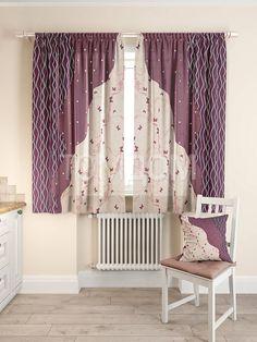 """Комплект штор """"Росица"""": купить комплект штор в интернет-магазине ТОМДОМ #томдом #curtains #шторы #interior #дизайнинтерьера"""