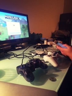 Played video games with a good friend haha. Get warm. Away from the cold winter.