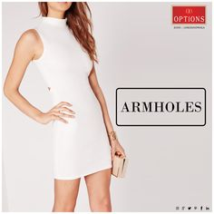 When shopping for tops and dresses, make sure the armhole doesn't expose any of your bra. Shopping Tips, Mumbai, Style Guides, Bra, How To Make, Tops, Dresses, Fashion, Vestidos