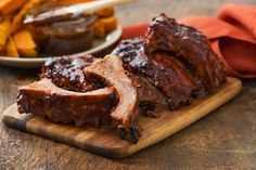 These Maple Chipotle Barbecue Baby Back Ribs are a must-have for game day.