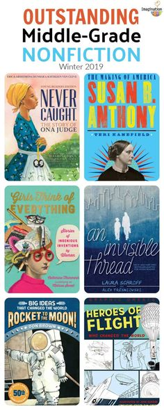 If you're like me, you will want to read these middle-grade nonfiction books and then recommend them to the young readers you know. Middle School Boys, Middle School Reading, Kids Reading, Reading Lists, High School, Best Non Fiction Books, Nonfiction Books For Kids, 6th Grade Ela, Sixth Grade