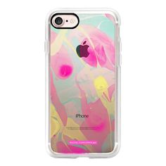 Marble Rainbow Abstract Colorful Paint Pattern Rachillustrates Rachel... (£32) ❤ liked on Polyvore featuring accessories, tech accessories, iphone case, iphone cover case, pattern iphone case, rainbow iphone case, apple iphone case and slim iphone case