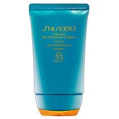 Shiseido Ultimate Sun Protection Cream For Face SPF 55 PA+++.