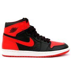 hot sale online 7417b c65fa 136066-061 Air Jordan 1 Retro Mens Basketball Shoes Black Red A01004 Jordan  Shoes For