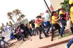 Así reprimieron a opositores en Maracaibo,