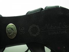 Natural Spin Signature Low Heels(Leather):  HL1311-07a_BlackSBL