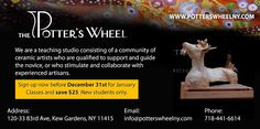 The Potter's Wheel http://www.clicksaveboom.com/coupons/the-potters-wheel/
