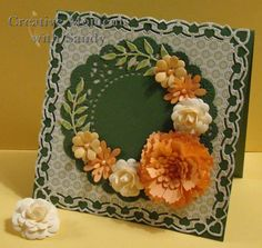 Cheery Lynn Designs Rose dies by shulsart - Cards and Paper Crafts at Splitcoaststampers