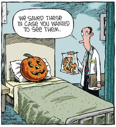 halloween art – Speed Bump by Dave Coverly for October 2014 Halloween Humor, Halloween Cartoons, Halloween Art, Happy Halloween, Halloween 2019, Cartoon Jokes, Funny Cartoons, Funny Comics, Funny Jokes