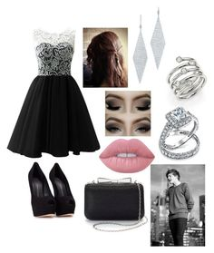 """""""Award Show with Louis"""" by thatrandomnerdygirl on Polyvore featuring Giuseppe Zanotti, Lime Crime, La Regale, Tiffany & Co., Michael Kors and Bling Jewelry"""