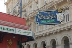 Bars of literary greats - I like how Ernest Hemingway is in almost half of these.  Pictured: El Floridita (Havana, Cuba)