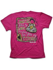 Cherished Girl Funny Jesus Fills My Heart Zebra Purse Girlie Christian | SimplyCuteTees