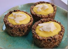 Raw Mango Coconut Tartlets