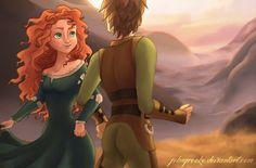 The Maiden and The Dragon by johngreeko.deviantart.com on @deviantART