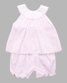Petit Ami Sailboat 2pc Set - Baby Girl