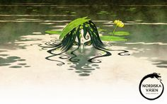 illustration from the book Nordic Creatures by Johan Egerkrans 2013 ©