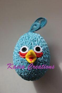 quilled bird :)