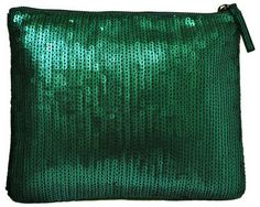 Winky Designs Sequin Clutch Emerald Green on shopstyle.com