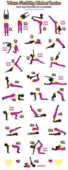 Yoga....its says pilates routine, but this is definitely yoga. still good though!