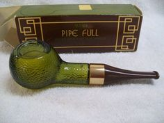 Vintage Avon Pipe Full Spicy After Shave 2oz. Full Bottle with Box. My dad had this too!