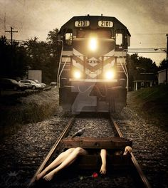 Serial Killer (The crime of the suitcase) by CharllieeArts on @DeviantArt